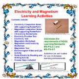 Electricity, Circuits and Magnetism Learning Packet