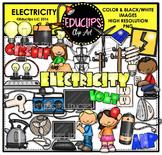 Electricity Clip Art Bundle  {Educlips Clipart}