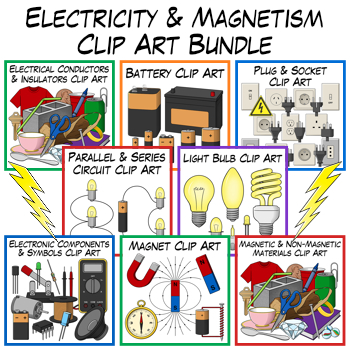 Electricity Clip Art Bundle