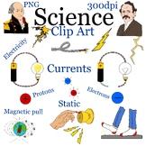 Electricity Clip Art, Magnetic field, Static Electricity Bundle