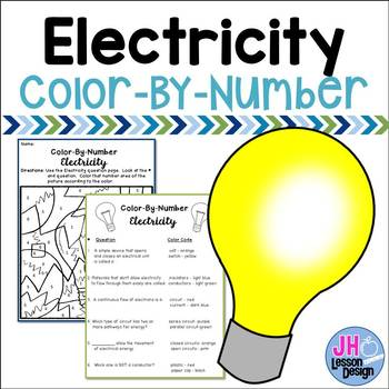 Electricity - Color-By-Number