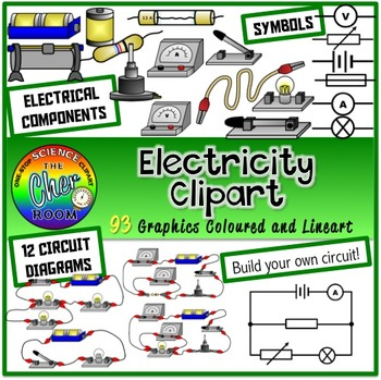 Electricity Combo (Circuit Diagrams, Components/Parts)
