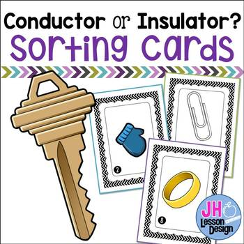 Electricity- Conductor or Insulator Sorting Activity