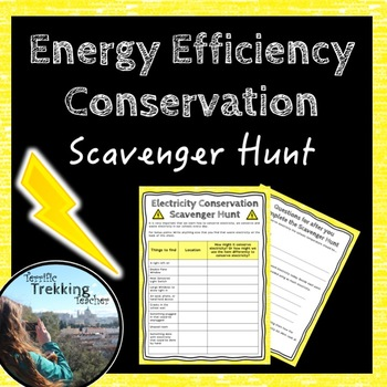 Energy Efficency Electricity Scavenger Hunt