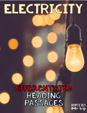Electricity Differentiated Nonfiction Reading Passages