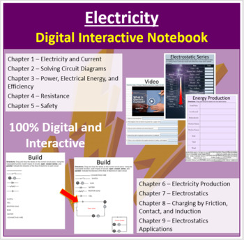 Electricity - Digital Interactive Notebook
