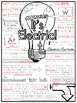 Electricity Doodle Notes Sheet