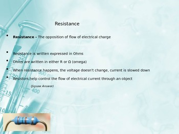 Electricity - Electric Current