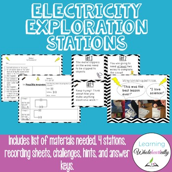 Electricity Exploration Stations