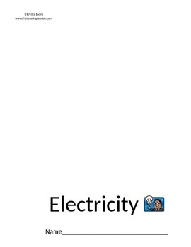 Electricity Flip Book