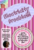 Electricity Freebie!!! - Explore and List homework worksheet