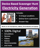 Electricity Generation – Device-Based Scavenger Hunt Activity