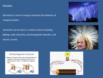 Electricity - History People Facts Power Point - Review Pictures Information