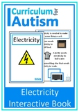 Electricity Interactive Adapted Science Book, Special Educ