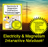 Electricity Interactive Notebook - Distance Learning Friendly