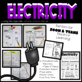 Electricity – Interactive Notebook – Great for Distance Learning!