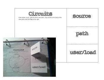 Electricity Interactive Notebook - Virginia 4th Grade SOL Science Unit