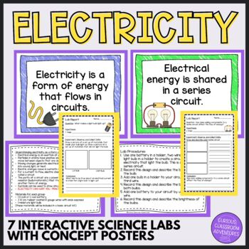 Electricity - Interactive Science Labs for Electrical Energy