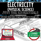 Electricity Just the Essentials Content Outlines, Next Generation Science
