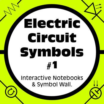 electricity labs schematic circuit symbols for paper circuits tpt rh teacherspayteachers com