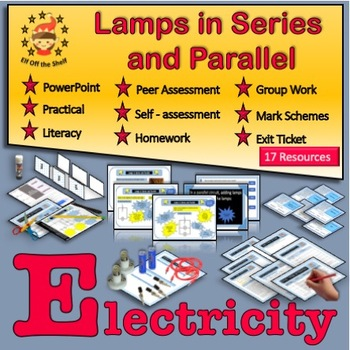Electricity - Lamps in Series and Parallel Circuits