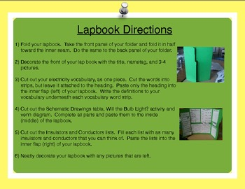 Electricity Lapbook