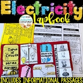 Electricity Lapbook & Passages | Electricity Activity | Circuits