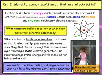 Electricity - Introduction Lesson (1 of 10)