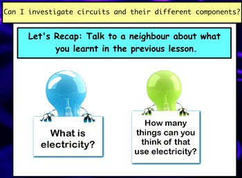 Electricity - Introduction to Circuits (Lesson 2 of 10)
