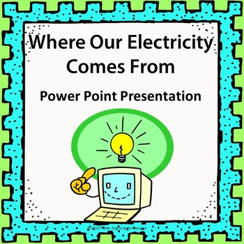 Electricity Lesson Bundle - Task Cards, Partner Game, PowerPoint Slides + More