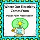 Electricity Lesson Bundle - Task Cards, Partner Game, Powe
