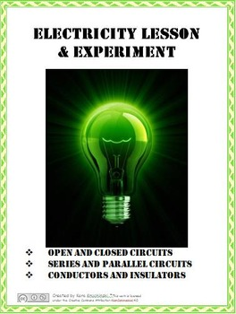 Electricity Lesson Plans & Experiment