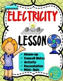 Electricity Lesson: Voltage, Insulators, Conductors, Current, and Charge