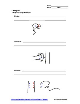 Electricity Lesson Worksheet
