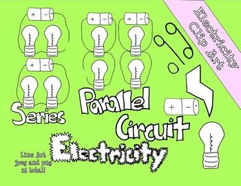 Electricity Line Art