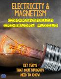 Electricity & Magnetism Comprehension Crossword
