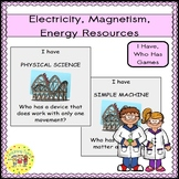 Electricity Magnetism Energy Sources I Have, Who Has Games