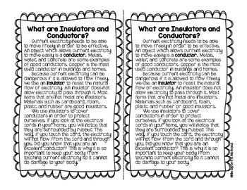 Electricity & Magnetism: Insulators & Conductors