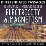 Electricity & Magnetism: Passages - Distance Learning Compatible