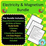 Electricity & Magnetism Unit Bundle – Upper Elementary – N