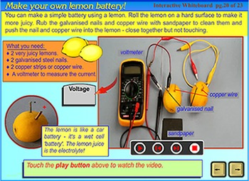 Electricity & Magnetism - an interactive SmartBoard & Whiteboard lesson