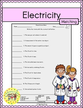 Electricity Matching