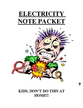 Electricity Note Packet