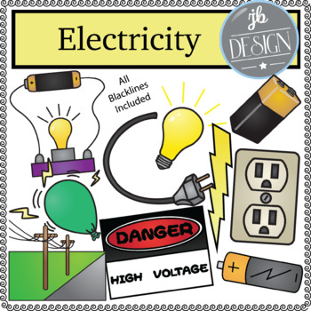 Electricity Pack (JB Design Clip Art for Personal or Comme