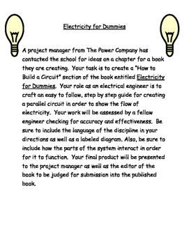 Electricity Performance Task
