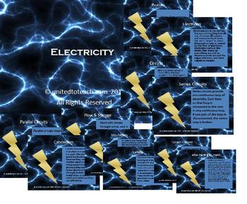 Electricity Power Point, Interactive Bulletin Board and More!