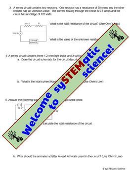 Electrical Circuit Practice Problems