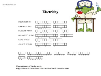 Electricity Puzzle