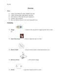 Electricity Quiz Study Guide, ESL