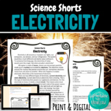 Electricity Reading Comprehension Passage